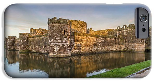 Recently Sold -  - Ruin iPhone Cases - Beaumaris Castle iPhone Case by Bahadir Yeniceri