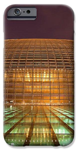 Beijing National Opera iPhone Case by Fototrav Print