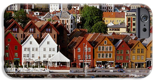 Norway iPhone Cases - Bergen Norway iPhone Case by Panoramic Images