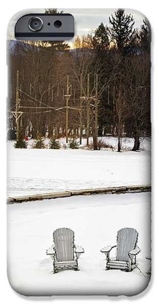 Berkshires Winter 3 - Massachusetts iPhone Case by Madeline Ellis