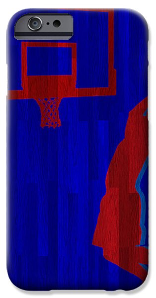 Griffin iPhone Cases - Blake Griffin Los Angeles Clippers iPhone Case by Joe Hamilton