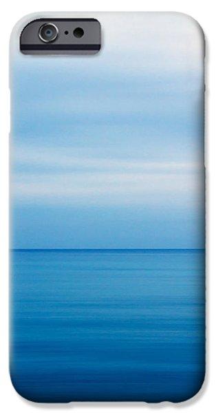 Mediterranean iPhone Cases - Blue Mediterranean iPhone Case by Stylianos Kleanthous