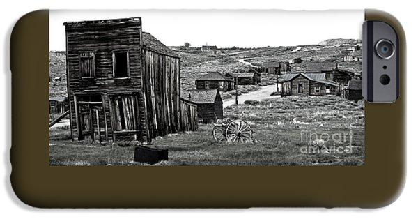 Town iPhone Cases - Bodie California iPhone Case by Nick  Boren