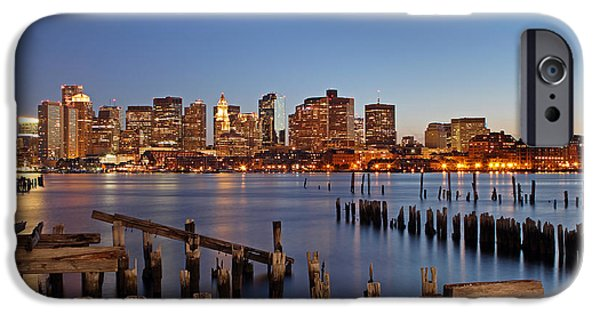 Custom House Tower iPhone Cases - Boston iPhone Case by Juergen Roth