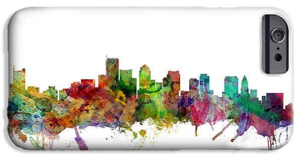 Recently Sold -  - City. Boston iPhone Cases - Boston Massachusetts Skyline iPhone Case by Michael Tompsett
