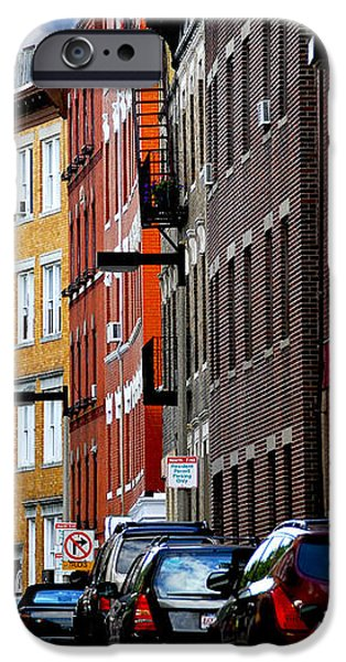 Boston street iPhone Case by Elena Elisseeva