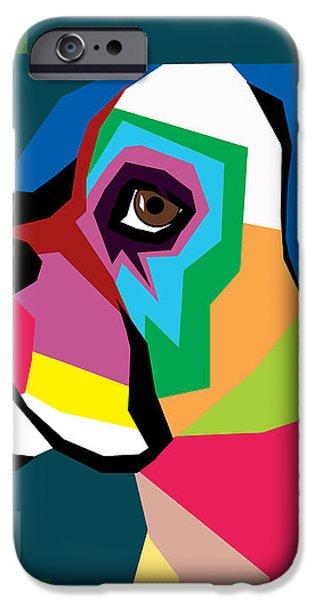 BOXER  iPhone Case by Mark Ashkenazi