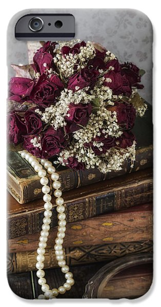 Creepy iPhone Cases - Bridal Bouquet iPhone Case by Joana Kruse