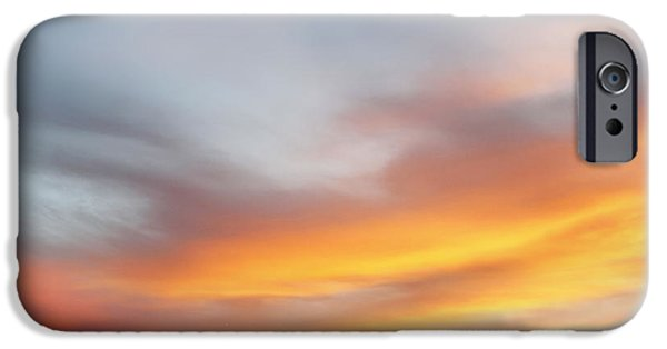 Summer Light iPhone Cases - Bright sky iPhone Case by Les Cunliffe