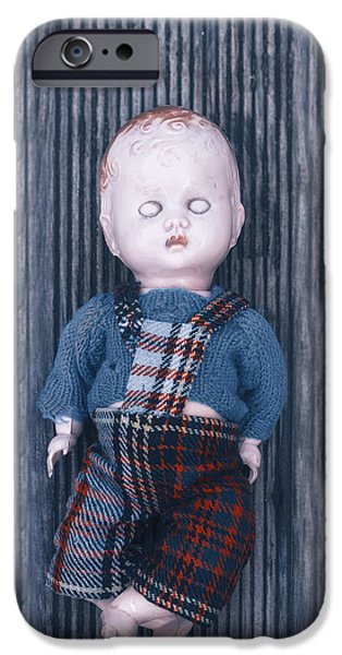Abuse iPhone Cases - Broken Doll iPhone Case by Joana Kruse