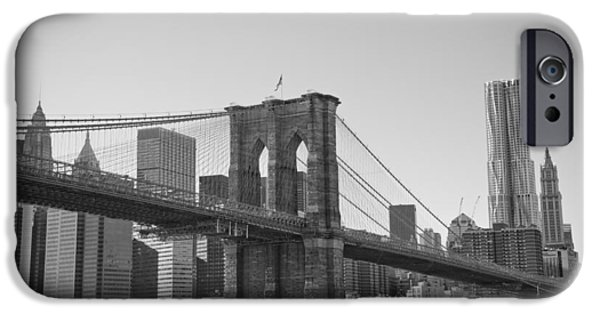Recently Sold -  - East Village iPhone Cases - Brooklyn Bridge iPhone Case by Newyorkcitypics Bring your memories home