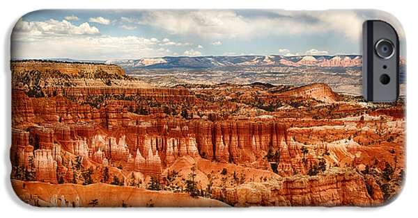 Red Rock iPhone Cases - Bryce Canyon iPhone Case by Jane Rix