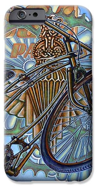 BSA Parabike iPhone Case by Mark Howard Jones