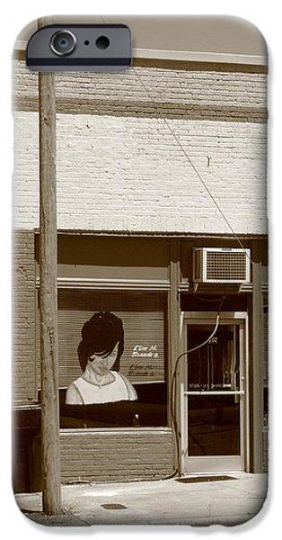 Burlington North Carolina - Small Town Business iPhone Case by Frank Romeo