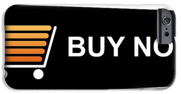 Business Digital iPhone Cases - Buy Now Black iPhone Case by Henrik Lehnerer