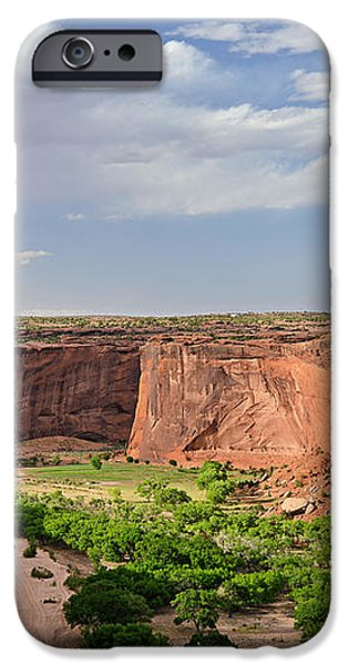 Canyon de Chelly from Sliding House Overlook iPhone Case by Christine Till