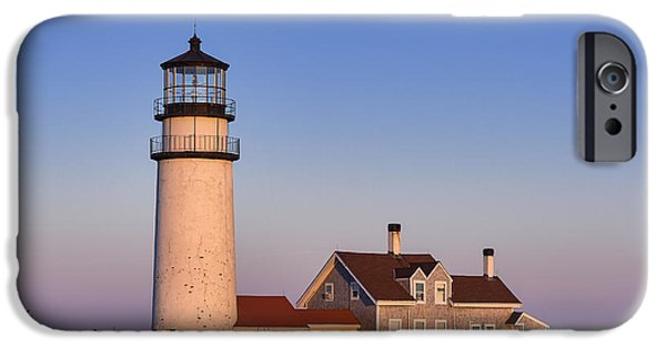 Cape Cod Lighthouse iPhone Cases - Cape Cod Lighthouse iPhone Case by John Greim