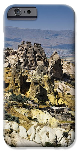 Village Pyrography iPhone Cases - Cappadocia iPhone Case by Jelena Jovanovic
