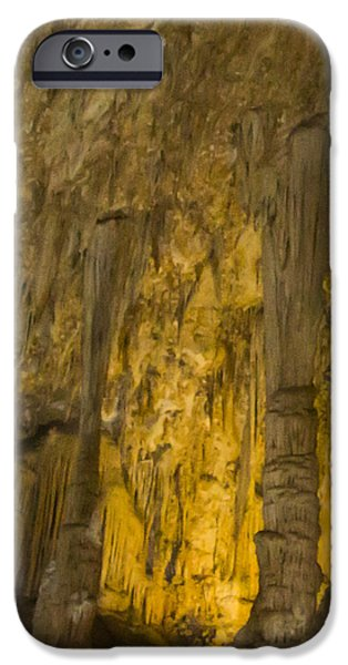 Eerie iPhone Cases - Carlsbad Caverns iPhone Case by Jean Noren
