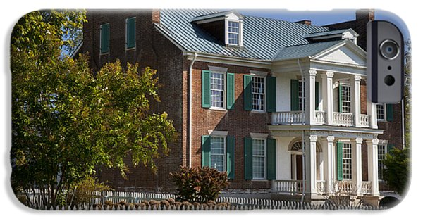 Tennessee Historic Site iPhone Cases - Carnton Plantation iPhone Case by Brian Jannsen