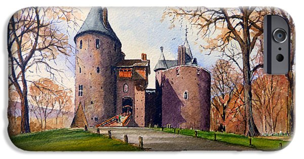 United iPhone Cases - Castell Coch  iPhone Case by Andrew Read