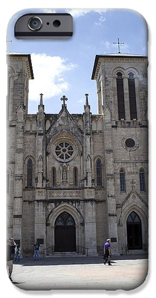 Cathedral of San Fernando iPhone Case by Karen Cowled