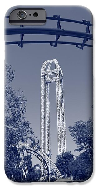 Adrenaline iPhone Cases - Cedar Point iPhone Case by Dan Sproul