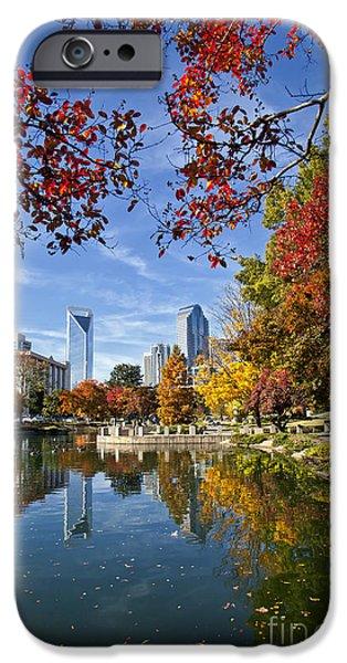 Charlotte North Carolina Marshall Park iPhone Case by Jill Lang