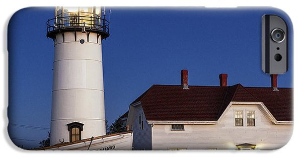 Chatham iPhone Cases - Chatham Lighthouse iPhone Case by John Greim