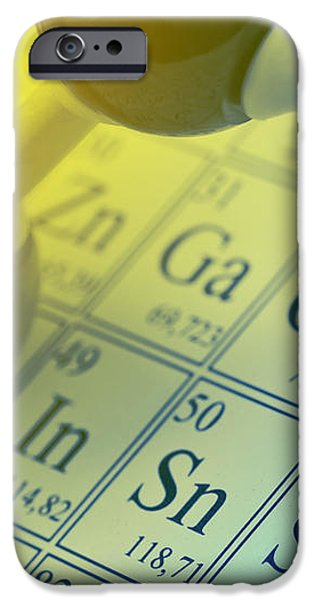 Chemistry concept iPhone Case by Shawn Hempel