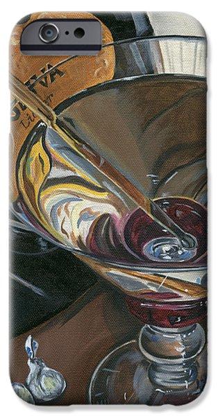 Chocolate Martini iPhone Case by Debbie DeWitt