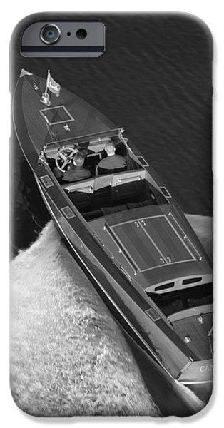 chris craft aerial iPhone Case by Steven Lapkin