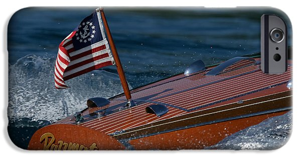 Mahogany Red iPhone Cases - Chris-Craft Classic iPhone Case by Steven Lapkin