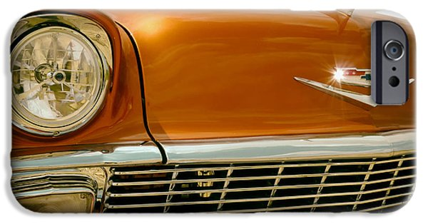 1950s Portraits iPhone Cases - Classic Chevy iPhone Case by Mountain Dreams
