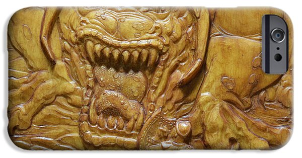 Bas Relief Reliefs iPhone Cases - Confrontation iPhone Case by Jeremiah Welsh