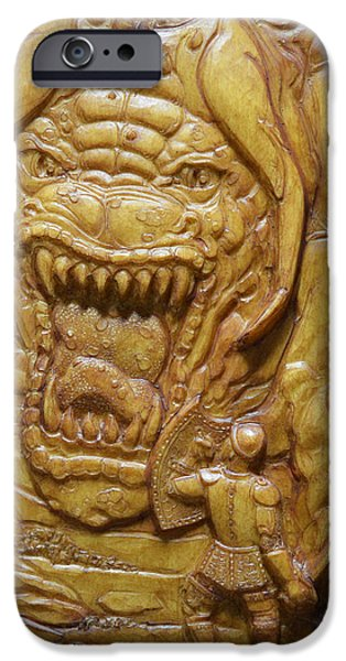 Confrontation iPhone Case by Jeremiah Welsh