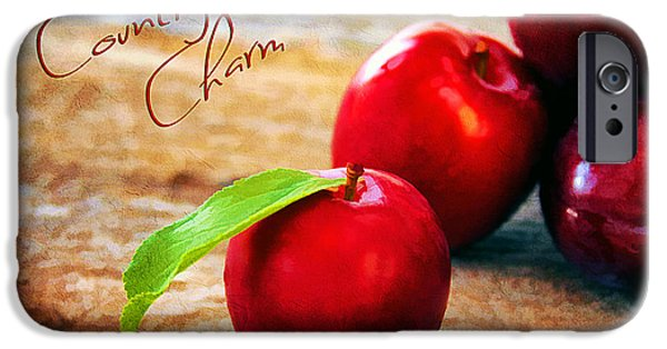 Reflection Harvest iPhone Cases - Country Charm iPhone Case by Darren Fisher
