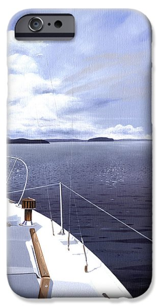 Cruising North iPhone Case by Gary Giacomelli