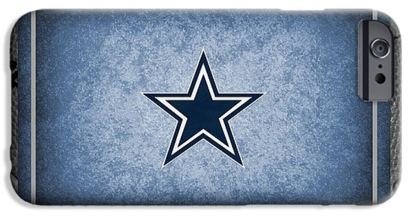 Bryant iPhone Cases - Dallas Cowboys iPhone Case by Joe Hamilton