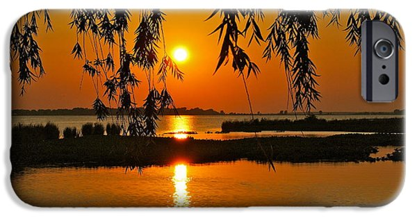 Willow Lake iPhone Cases - Dancing Light iPhone Case by Frozen in Time Fine Art Photography