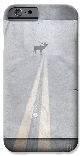 Fine Art Photography iPhone Cases - Danger Ahead iPhone Case by Edward Fielding