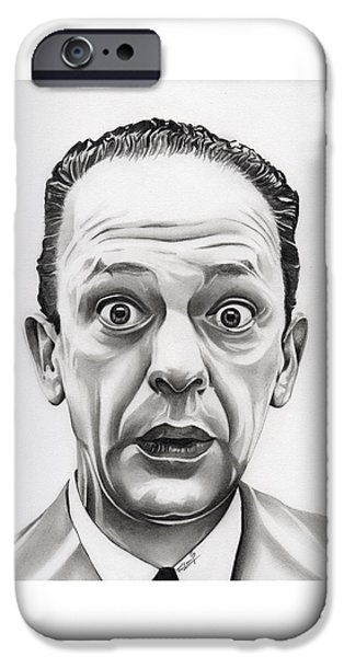 Andy Griffith Show iPhone Cases - Deputy Barney Fife iPhone Case by Fred Larucci