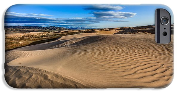 Little iPhone Cases - Desert Texture iPhone Case by Chad Dutson
