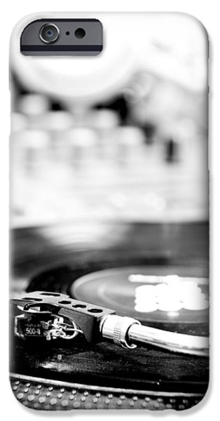 Recently Sold -  - Disc iPhone Cases - DJ Table iPhone Case by Admir Gorcevic