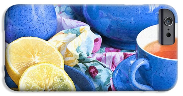 Canadian Photographer iPhone Cases - Do You Take Lemon? iPhone Case by Theresa Tahara