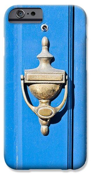 Door knocker iPhone Case by Tom Gowanlock