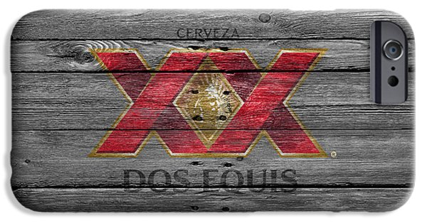 Draft iPhone Cases - Dos Equis iPhone Case by Joe Hamilton