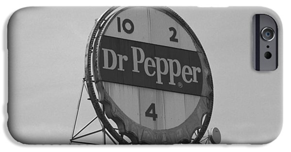 Recently Sold -  - Small iPhone Cases - Dr. Pepper Bottle Top iPhone Case by Frank Romeo