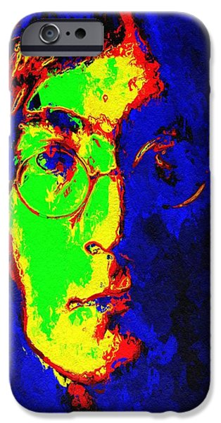 Abstract Expressionism iPhone Cases - Dreamer iPhone Case by Stefan Kuhn