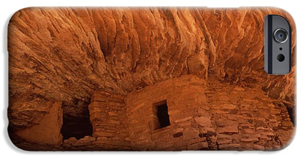 Built Structure iPhone Cases - Dwelling Structures On A Cliff, House iPhone Case by Panoramic Images